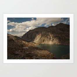 Alpine Lake in the Wind River Range of Wyoming Art Print