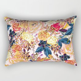 Rustic Floral #society6 #decor #buyart Rectangular Pillow