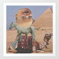 desert Art Prints featuring Desert by Jon Duci