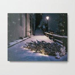 Chrismas Tree Metal Print