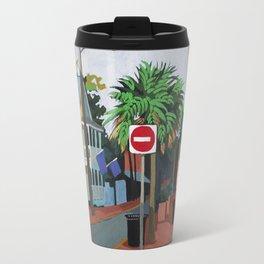 Corner Palm Travel Mug