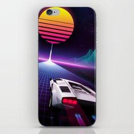 Neon Skyway iPhone Skin