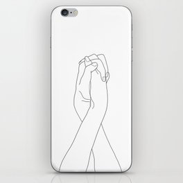 Never Let Me Go II iPhone Skin