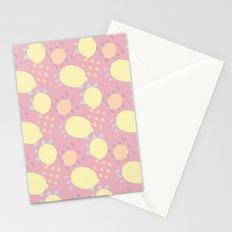 Summer Lemon Blast Stationery Cards
