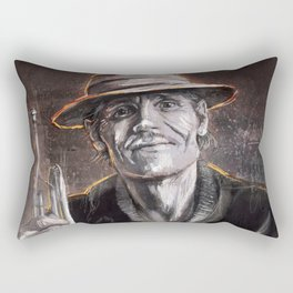 ChetBaker Rectangular Pillow