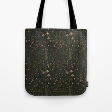 Old World Florals Tote Bag
