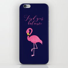 Find Your Balance iPhone & iPod Skin