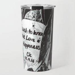 Words Travel Mug