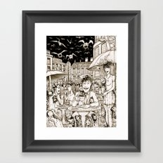Another end of the World Framed Art Print