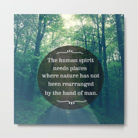 Places in Nature Metal Print