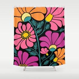 Wildflower Party Shower Curtain