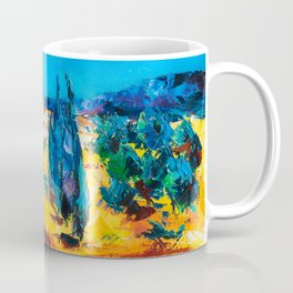 Sunny Day In Provence Coffee Mug