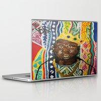 biggie Laptop & iPad Skins featuring coogi biggie  by waddartbydrew