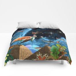 HEAVEN AND EARTH Comforters