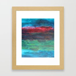 Sea Sunset Framed Art Print