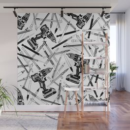 Art Bits Drill Set Wall Mural