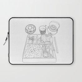 Japanese Bento Box - Line Art Laptop Sleeve
