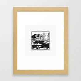 Porto Valtravaglia Framed Art Print