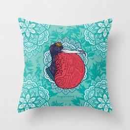 Frigatebird Throw Pillow