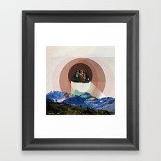 Floats Above Framed Art Print