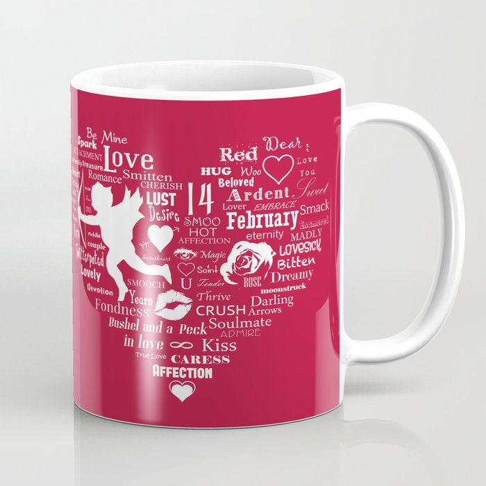 The Red Heart Coffee Mug
