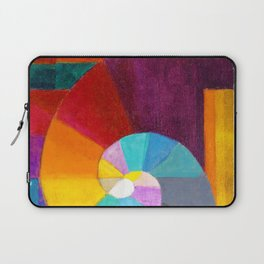 1916 Classical Masterpiece 'In The Beginning' by Paul Klee Laptop Sleeve
