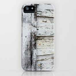 White Paint iPhone Case
