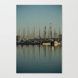 St. Malo Masts Canvas Print