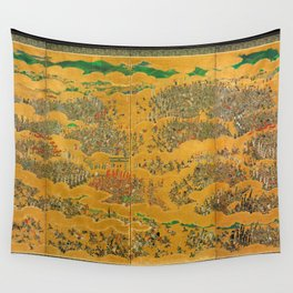 Siege of Osaka Castle Wall Tapestry