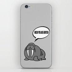 Angry Walrus iPhone & iPod Skin