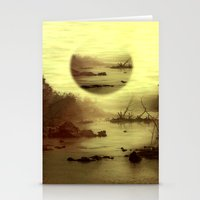 jazzberry Stationery Cards featuring Illusive visions float above my head... by Donuts