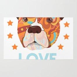 Love Dog Rug