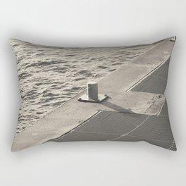 Sea Pier Geometry Rectangular Pillow