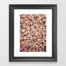 Flower Market 1 - Pink Roses  Framed Art Print