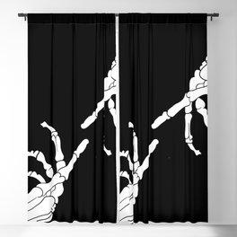 Until Death Do Us Part - Skeleton Hands Blackout Curtain