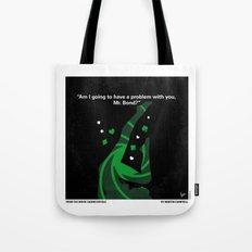 No277-007-2 My Casino Royale minimal movie poster Tote Bag