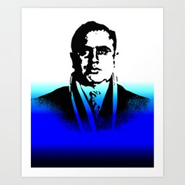 Al Capone, BLUE BEAT  Art Print