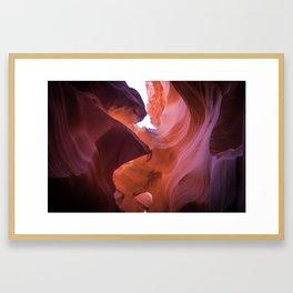 Light in Arizona Framed Art Print