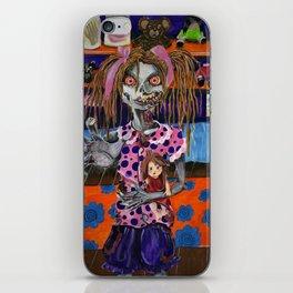zombie tween iPhone Skin