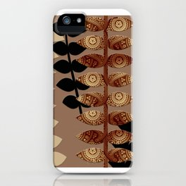 Patterned Vines iPhone Case
