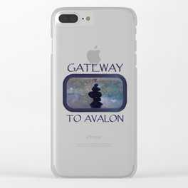Gateway to Avalon Clear iPhone Case