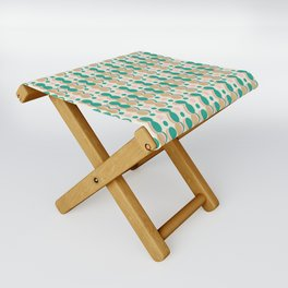 Uende Cactus - Geometric and bold retro shapes Folding Stool