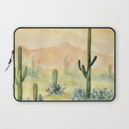 Desert Sunset Landscape Laptop Sleeve