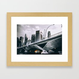 Steel Jungle Framed Art Print