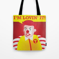 Mc Donald Trump Tote Bag