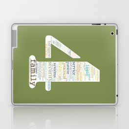 Life Path 4 (color background) Laptop & iPad Skin
