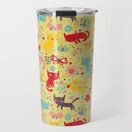 Cute Cats Travel Mug