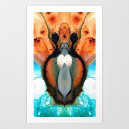 Lady Venus - Abstract Art by Sharon Cummings Art Print