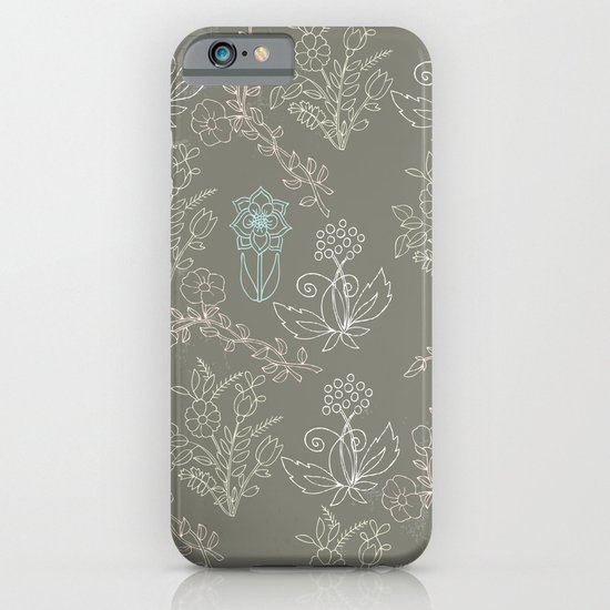 flowery iPhone & iPod Case
