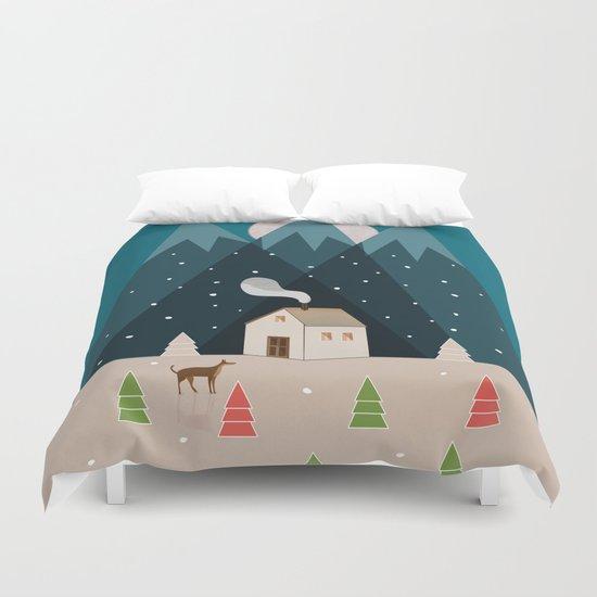Winterworm Duvet Cover